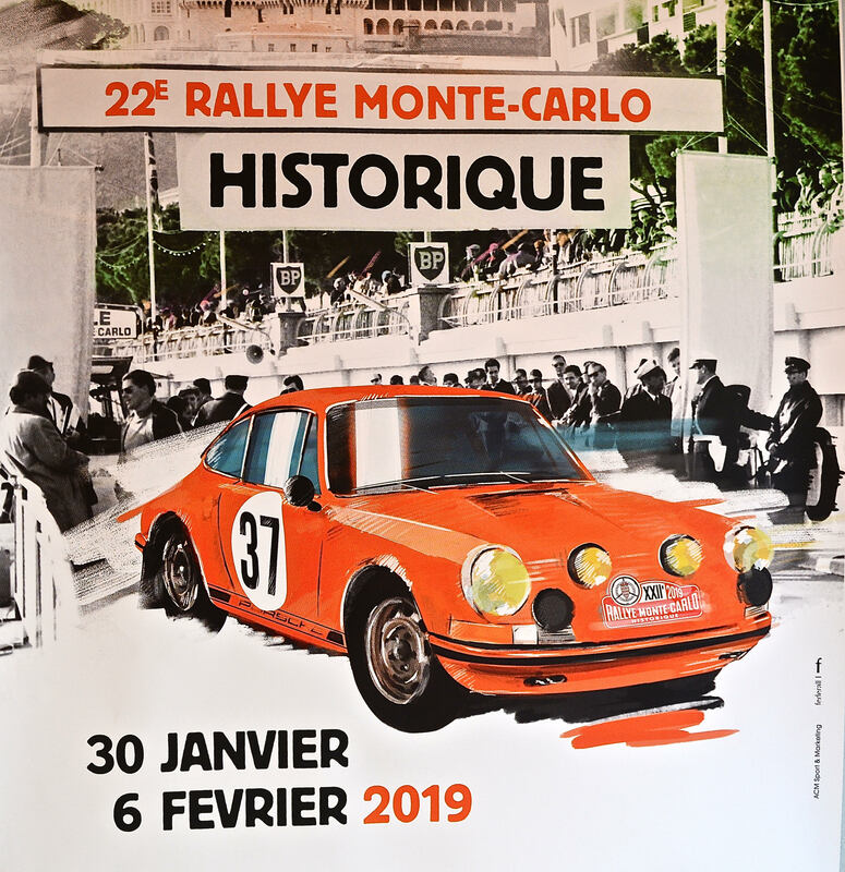 Mike Archer Motor Photography Monte Carlo Ralleye Historique